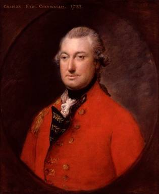 Charles Cornwallis, 1st Marquess Cornwallis, ca. 1783 (Thomas Gainsborough) (1727-1788) National Portrait Gallery, London NPG 281