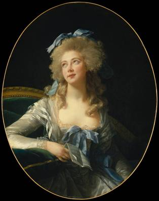 Catherine Noele Worlée, 1783 (Élisabeth Louise Vigée Le Brun) (1755-1842) The Metropolitan Museum of Art, New York, NY 50.135.2