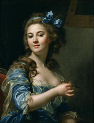 Self-Portrait, ca. 1783 (Marie-Gabrielle Capet) (1761-1818) National Museum of Western Art, Tokyo P.2001.0002