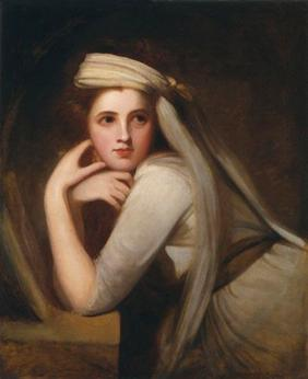 Emma, Lady Hamilton, ca. 1785 (George Romney) (1734-1802) National Portrait Gallery, London NPG 294