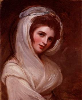 Emma, Lady Hamilton, ca. 1785 (George Romney)(1734-1802) National Portrait Gallery, London NPG 4448