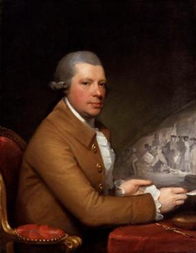 John Hall, ca. 1785 (Gilbert Stuart) (1755-1828) National Portrait Gallery, London NPG 693