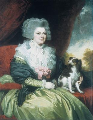 A Lady with Dog, 1786 (Mather Brown) (1761-1831) The Metropolitan Museum of Art, New York, NY 64.129