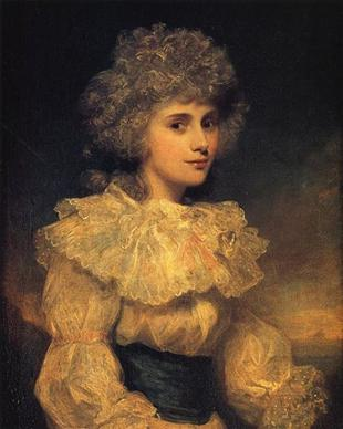 Elizabeth Foster, ca. 1787 (Sir Joshua Reynolds) (1723-1792) Location TBD