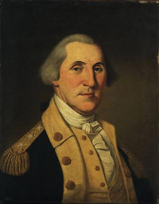 George Washington, ca. 1787 (Charles Willson Peale) (1741-1827) Princeton University Art Museum, NJ y1978-45