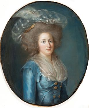 Madame Élisabeth de France, ca. 1787 (Adélaïd Labille Guiard) (1749-1803) The Metropolitan Museum of Art, New York, NY 2007.441 P