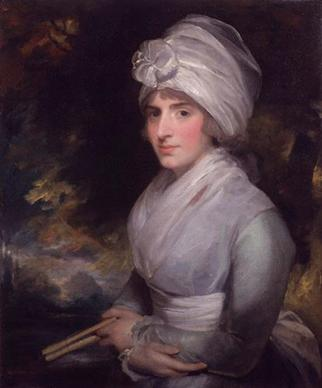Sarah Siddons (née Kemble) (Gilbert Stuart) (1755-1828) National Portrait Gallery, London NPG 50