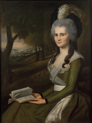 Esther Boardman, 1789 (Ralph Earl) (1751-1801) The Metropolitan Museum of Art, New York, NY 1991.338