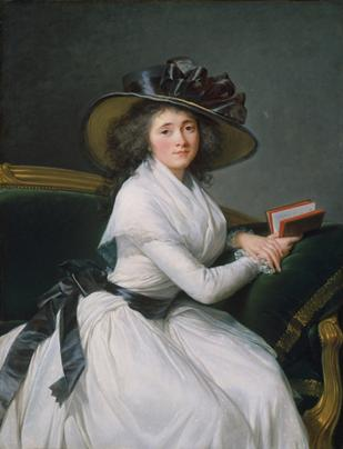 Marie Louise Perrette Aglaé Bontemps, 1789 (Élisabeth Vigée Le Brun) (1755-1842) The Metropolitan Museum of Art, New York, NY 54.182