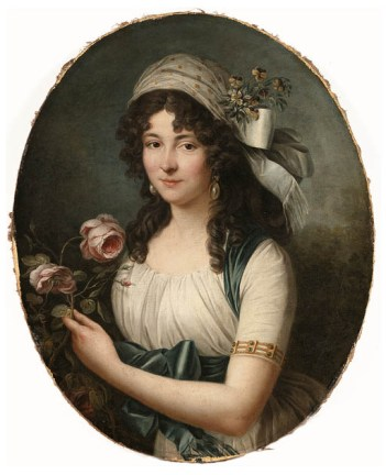 A Lady, ca. 1789 (attributed to Marie-Victoire Lemoine (1754-1820) Christie's Sale 9154, Lot 22