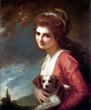 Lady Hamilton as Nature, 1781 (George Romney) (1734-1802) Location TBD