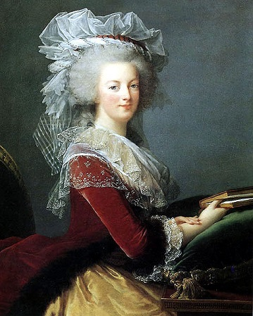 Marie Antoinette, Queen Consort of France, 1785 (Elisabeth Louise Vigée Lebrun) (1755-1842) Location TBD