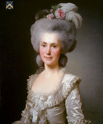 Marie Jeanne Puissant, 1781 (Alexander Roslin) (1718-1793) Location TBD