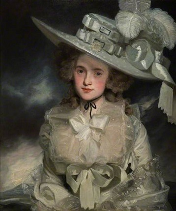 Mary Boteler, 1786 (John Hoppner) (1758-1810) The Higgins Bedford, Bedfordshire
