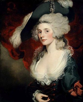 Mary Robinson as Perdita, ca. 1789 (John Hoppner) (1758-1810) Chawton House Library, Hampshire