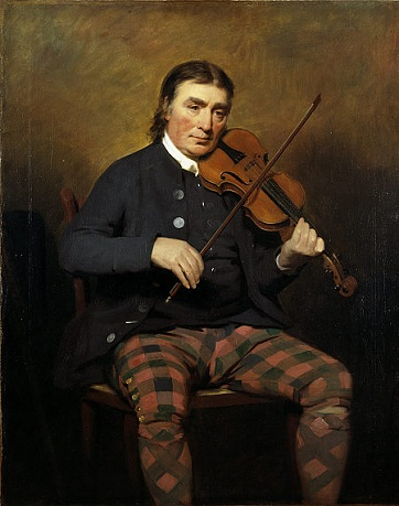 Niel Gow, 1787 (attributed to Henry Raeburn) (1856-1823) Scottish National Portrait Gallery, Edinburgh PG 160
