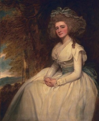 Susannah (Miller) Lee Acton, ca. 1786-87 (Goerge Romney) (1734-1802) The Huntington, San Marino, CA 17.25