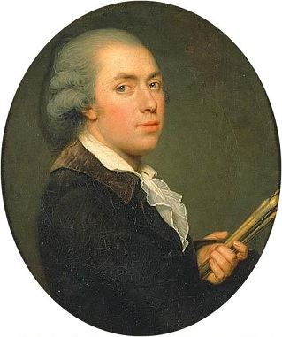 Self-Portrait, ca. 1791 (Adolf Ulrik Wertmüller) (1751-1811)   Nationalmuseum, Stockholm