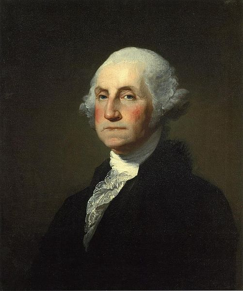 George Washington, President of the United States, ca. 1796 (Gilbert Stuart) (1755-1828)  Sterling and Francine Clark Institute, Williamstown, MA