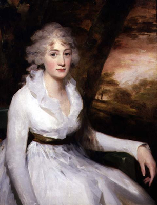 Isabella Halkett, ca. 1795 (Sir Henry Raeburn) (1756-1823)  Philip Mould Ltd., London