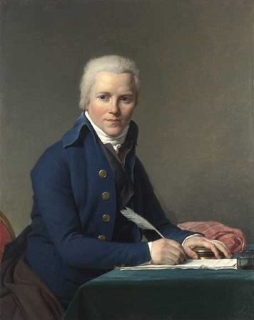 Jacobus Blauw, Dutch Envoy to Paris, 1795  (Jacques Louis David) (1748-1825)  The National Gallery, London