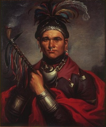 "Gaiänt'wakê, aka ""Cornplanter"", Seneca Chief, 1796 (Frederick Bartoli) (????-????)  New York Historical Society, New York, NY"