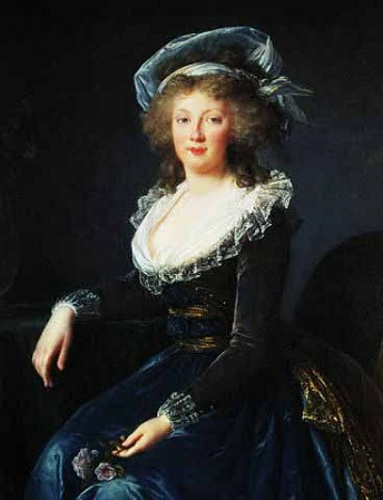 Maria Theresa of Naples and Sicily, 1790 (Louise Élisabeth Vigée Le Brun) (1755-1842)   Location TBD