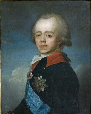 Paul I, Tsar of Russia, ca. 1797 (attributed to Jean-Louis Voille) (1744-1803)  Location TBD