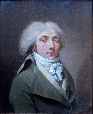 Self-Portrait, 1794 (Louis Léopold Boilly) (1761-1845) Palais des Beaux-Arts de Lille