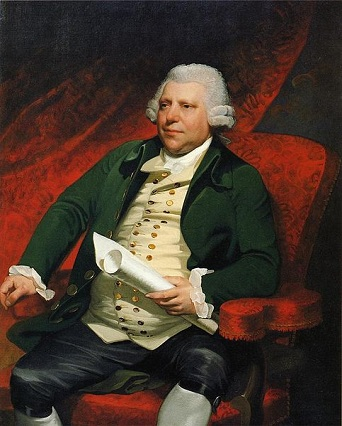 Sir Richard Arkwright, 1790 (Mather Brown) (1761-1831)  New Britain Museum of American Art, New Britain, CT   1957.08