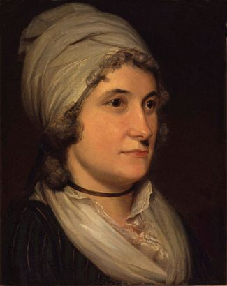 Anne Flaxman (née Denman), ca. 1797 (Henry Howard) (1759-1847) National Portrait Gallery, London    NPG 675