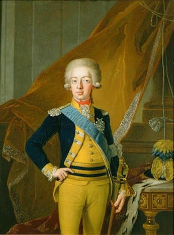 Gustav IV Adolf, King of Sweden, 1793 (Per Krafft the Elder) (1724-1793)   Nationalmuseum, Stockholm,  NMGrh 409