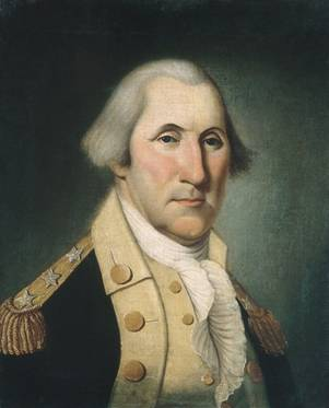 George Washington, 1790 (Charles Peale Polk) (1767-1822)   The Metropolitan Museum of Art, New York, NY    24.109.81