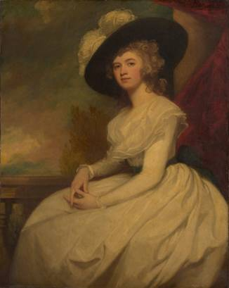 Frances Puleston, ca. 1787-1791 (George Romney) (1734-1802)   The Metropolitan Museum of Art, New York, NY    45.59.4