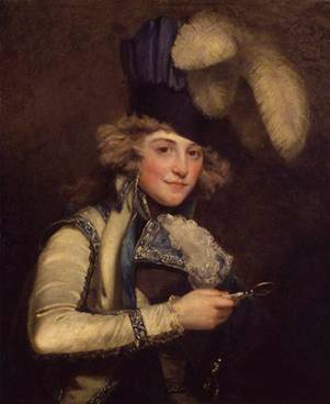 Dorothy Jordan, ca. 1791 (John Hoppner)   (1758-1810)   National Portrait Gallery, London    NPG L174