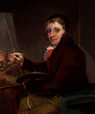George Morland, ca. 1792 (John Raphael Smith) (1752-1812)  National Portrait Gallery, London    NPG 5931