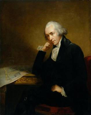 James Watt, ca. 1792 (Carl Frederik von Breda) (1759-1818)   National Portrait Gallery, London    NPG 186a