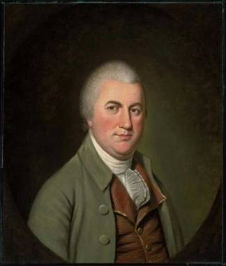 Nathaniel Gorham, ca. 1793 (Charles Willson Peale) (1741-1827)   Museum of Fine Arts, Boston    48.1356