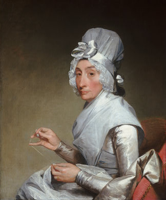 Catherine Brass Yates (Mrs. Richard Yates), ca. 1793-94 (Gilbert Stuart)    (1755-1828)  National Gallery of Art, Washington D.C. 1940.1.4