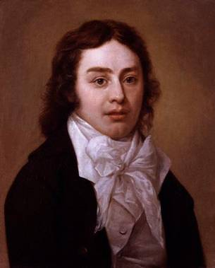 Samuel Taylor Coleridge at 23 years old, ca. 1795 (Peter Van Dyke) (1729-1799)    National Portrait Gallery, London    NPG 192