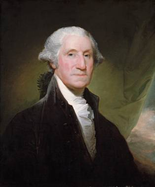 "George Washington, 1795  (Gilbert Stuart) ""Vaughan Group"" (1755-1828)   The Metropolitan Museum of Art, New York, NY"