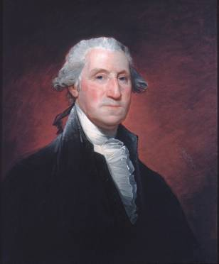 "George Washington, ca. 1795  (Gilbert Stuart) ""Vaughan Group"" ""1798-1800"" (1755-1828)   The Metropolitan Museum of Art, New York, NY    43.86.1"