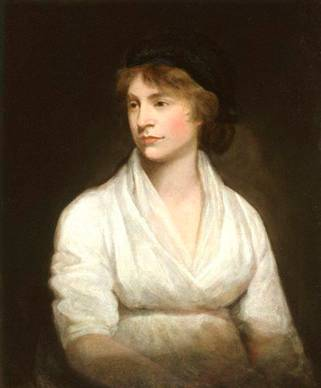 Mary Wollstonecraft, ca. 1797 (John Opie) (1761-1807)   National Portrait Gallery, London    NPG 1237