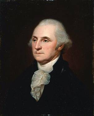 George Washington, ca. 1795-1798 (Charles Willson Peale) (1741-1827)   Museum of Fine Arts, Boston    74.29