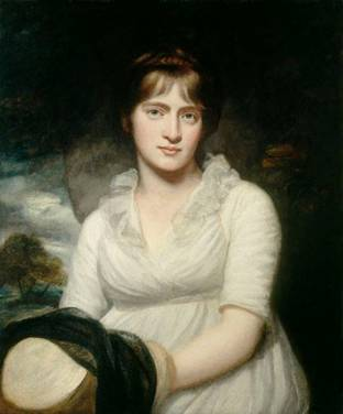 Amelia Opie, ca. 1798 (John Opie)  (1761-1807)    National Portrait Gallery, London    NPG 765