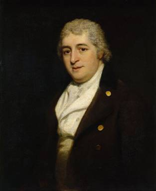 Charles Dibdin, ca. 1799 (Thomas Phillips) (1770-1845)   National Portrait Gallery, London    NPG 103