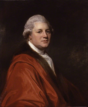 James MacPherson, ca. 1790 (George Romney) (1734-1802)  National Portrait Gallery, London    NPG 5804