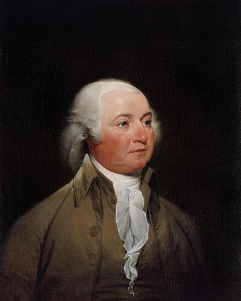 John Adams, ca. 1793 (John Trumbull) (1756-1843)  The White House Art Collection, Washington, D.C.,  986.1582.1
