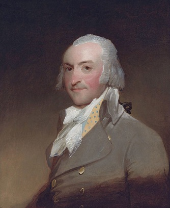 John Jacob Astor, 1794 (Gilbert Stuart) (1755-1828)   The Brook Club, Manhattan, NY