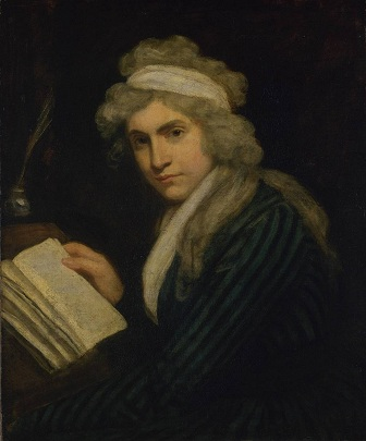 Mary Wollstonecraft, ca. 1791 (John Opie) (1761-1807)   Tate Britain, London,  N01167